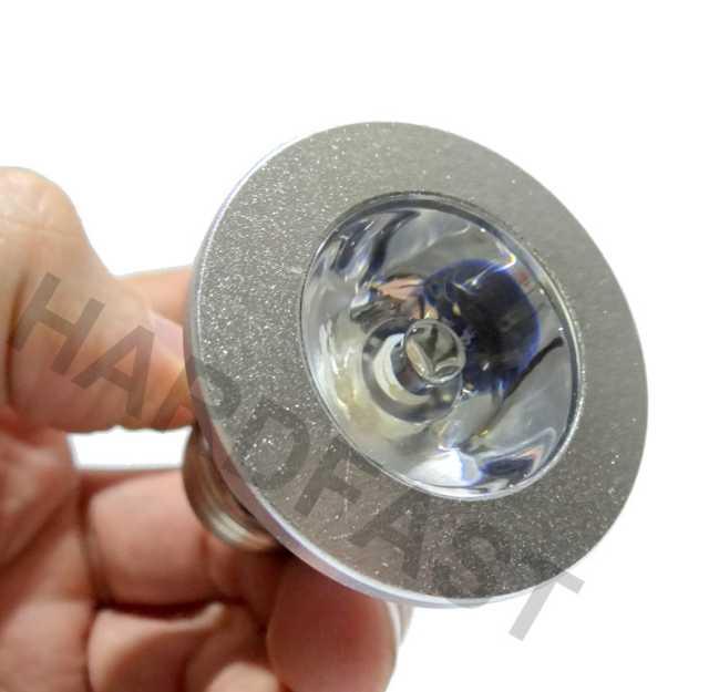 Lâmpada Rgb Led Spot Bivolt Cores Controle Brinde Adaptador  - HARDFAST INFORMÁTICA