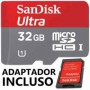 Cart�o Mem�ria Micro Sd 32gb Class 10 Tablet Gopro Galaxy HD Sandisk Ultra