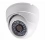 Camera Dome CCd Sony 1000linhas CFTV Segurança Hd Led Infravermelho IR Dia Noite Alta definição C/ Fonte e conector