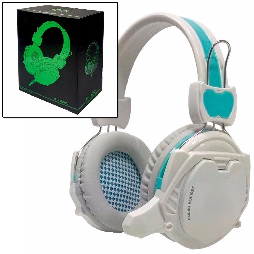 Fone Ouvido K-20 Headset Gamer Áudio 7.1 Led Usb Microfone Qualidade Grave Confortável Celular  - HARDFAST INFORMÁTICA