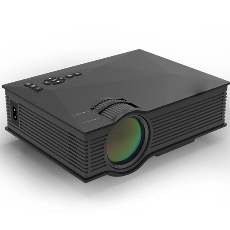 Mini Projetor Led Profissional Uc46 1200 Lumens HDMI WIFI VGA P/ Xbox One Play 4 ate 130 polegadas  - HARDFAST INFORMÁTICA