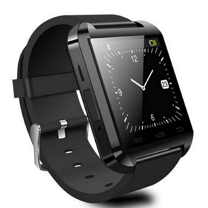 Relogio Bluetooth u8+ Plus Smartwatch Touch Screen Sem fio Inteligente Ligação Viva Voz Preto  - HARDFAST INFORMÁTICA