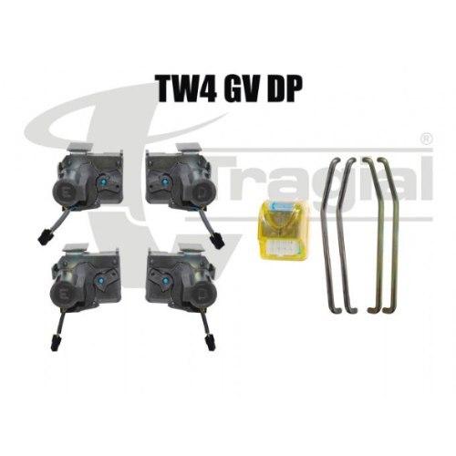 Kit Travas Elétricas 4 Portas Palio/Siena/Celta/Prisma/Fox - SONNIC SOUND