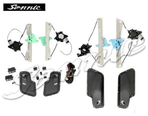 Kit Vidros Elétricos Fox 4 Portas Sensorizados - SONNIC SOUND