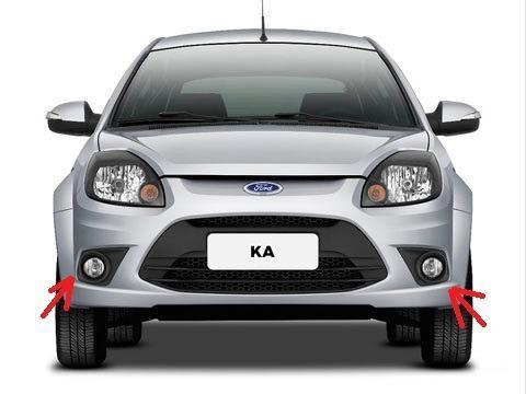 Kit Farol Milha Auxiliar Ford Ka Novo 2012/13 - SONNIC SOUND