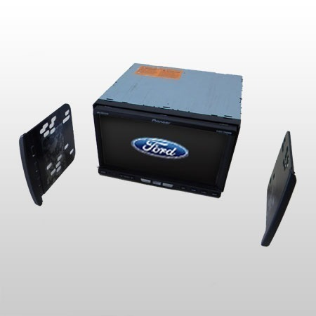 Moldura de Painel Dvd 2 Din Ká/Focus/Ranger/F250/Escort AP488 - SONNIC SOUND