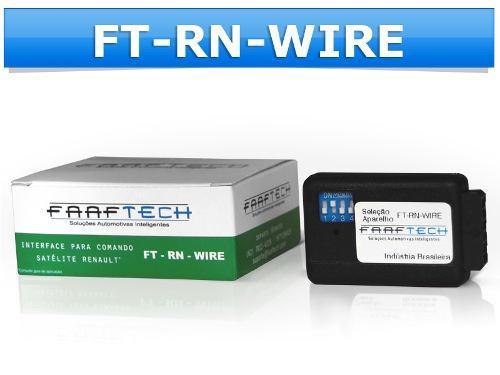 Interface Para Controle De Volante Radio FT-RN-WI Faatech - SONNIC SOUND