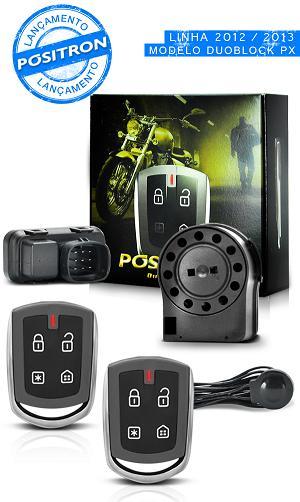 Alarme Moto Positron Duoblock Pro G6 Universal 2012 2013 - SONNIC SOUND