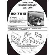 Moldura de Painel Mitsubishi Outlander 2008/2012 - SONNIC SOUND