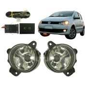 Kit Farol de Milha/Neblina Vw Fox/Space Fox/Cross Fox 2003/2010 - SONNIC SOUND