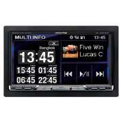 Player Multimidia Alpine IXA-W407 Mp3/Usb/Bluetooch 2 Din - SONNIC SOUND