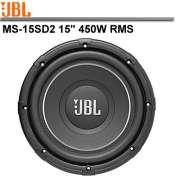 Subwoofer JBL MS-15SD2 -450W W RMS 2+ 2 Ohms