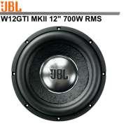 Subwoofer JBL W12GTI MKII 12´- 700W RMS 6+ 6 Ohms - SONNIC SOUND