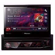 Dvd Player Retrátil Pioneer Avh-3880Dvd Tela 7'' Usb Frontal - SONNIC SOUND