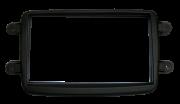 Moldura Painel DVD 2 Din Renault  Sandero/ Duster/ Logan AP550 - SONNIC SOUND