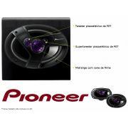 Par de Alto-Falantes 6x9 Polegadas Quadriaxial -Pioneer  400W TS-6941TBR - SONNIC SOUND