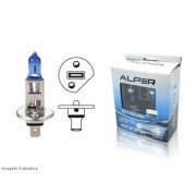 Lâmpadas Alper H1 / H3 - 55watts - Crystal Blue Extreme 5000k - SONNIC SOUND