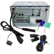 Dvd Player Kenwood Ddx-3071BT Tela 6.1´ 2 Din Entrada Usb Ipod Bluetooth - SONNIC SOUND