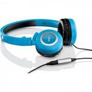 Fone Akg K430 Com Controle Volume On Ear Blue Azul