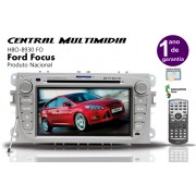 Central Multimidia Focus H-buster - Hbo-8930 FO Tela De 7�