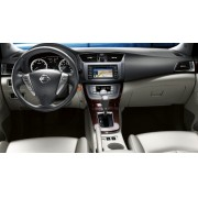 Moldura Painel Novo Nissan Sentra 2014/2015 2 Din Dvd Multimidia - SONNIC SOUND