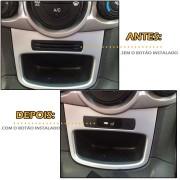 Kit Farol De Milha/Neblina New Fiesta Hatch 2013 / 2014/2015 Botão No Painel - SONNIC SOUND