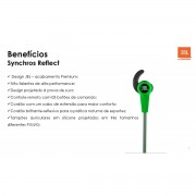 Fone de Ouvido JBL Synchros Reflect para iPhone/Android - SONNIC SOUND