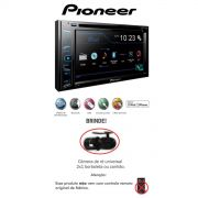 Dvd Player Pioneer Avh-298bt Bluetooth-tela 6.1 Usb+ Camera - SONNIC SOUND
