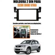 Moldura De Painel Para Aparelho 2 Din Suzuki Grand Vitara AP807 - SONNIC SOUND
