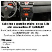 Moldura Painel Stilo Radio 1 Din AP627 - SONNIC SOUND