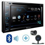 Dvd Pioneer Avh-A208BT +moldura Dvd 2 Din Astra Ar Condicionado Analogic - SONNIC SOUND