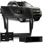 Moldura Painel Dvd 2din S10 Grand Blazer 2012/2013/2014 - Black Piano 2 Din AP876 - SONNIC SOUND