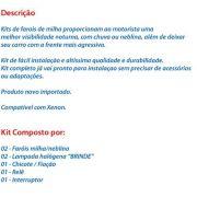 Kit Farol Milhas Neblina Corolla 2003/2004 - SONNIC SOUND