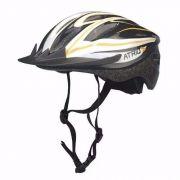 Capacete Ciclismo Bicicleta Multilaser Atrio Bi035 M 54-58cm Amarelo - SONNIC SOUND