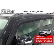 Calha Defletor De Chuva Jeep Renegade 4 Portas - Tg Poli - SONNIC SOUND