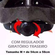 Capacete Ciclismo Bicicleta Multilaser Atrio Bi036 G 58-62cm Amarelo - SONNIC SOUND