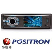 Dvd Positron 3  Sp4330bt Bluetooth Mp3 Usb Viva Voz Micro Sd - SONNIC SOUND