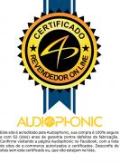 Kit 2 Vias Audiophonic Kc6.3 6,5  160w Original,02 Anos de Garantia - SONNIC SOUND