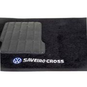 Jogo Tapete Carpete Preto Saveiro Cross G5/g6 5 Peças - SONNIC SOUND