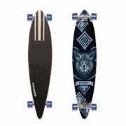 Skate Long Board Bob Burnquist 46  Es 057 Azul Frete Grátis - SONNIC SOUND