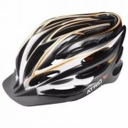 Capacete Ciclismo Bike Atrio C/ Led Sinalizador Tam M Bio27 - SONNIC SOUND