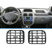 Par Difusor Central Do Painel Saida De Ar Renault Clio 2000/2012 ZR001/ZR002 - SONNIC SOUND
