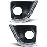Kit Farol Milha Corolla 2015/2016/2017 Com Led Daylight Drl - SONNIC SOUND