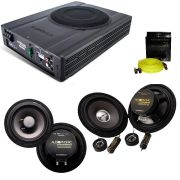 Kit Pro Audiophonic C/ Caixa Amplif. Aps 2.1+ks6.1+cs650/V2+RCA Sensation - SONNIC SOUND