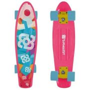 Skate Mini Cruiser Bob Burnquist Rosa Es092 Original - SONNIC SOUND