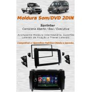 Moldura Painel Dvd 2 Din Multimídia Mercedes Benz Sprinter AP850 - SONNIC SOUND