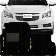 Tapete Carpete Premium 10mm Chevrolet Cruze 2012/2016 - SONNIC SOUND