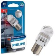 Par Lâmpada Philips P21 12v Led Vision 1 Polo - SONNIC SOUND