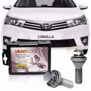 Parafuso Roda Trava Antifurto Corolla 2015/2016/2017 Farad Galaxylock - SONNIC SOUND