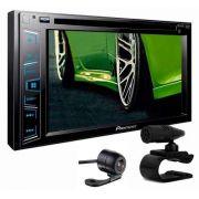 Dvd Pioneer Avh-A208BT + Moldura Honda Crv 2009+camera Ré - SONNIC SOUND